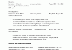 Resume Entry Level Examples by Exclusive Entry Level Resume Examples 9 Sample Cv Resume Ideas
