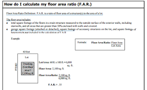 Total Square Footage Calculator How To Calculate Far Floor Area Ratio In A Real Estate Quora