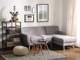 Tufted Sectional Sofas Tufted Sectional Sofa Gray Motala Beliani