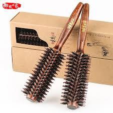 Sisir Rol harga saya anti statis rambut meniup rambut rol rol sisir kayu sisir
