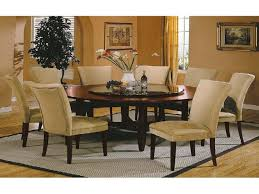 large round dining room table sets large round glass dining table seats 8 ideas intended for room