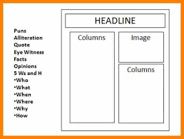 10 writing a newspaper article template sick leave letter
