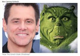jim carrey as the grinch in how the grinch stole a