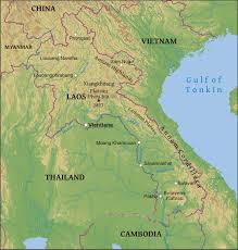 Geographical Map Maps Of Laos Bizbilla Com