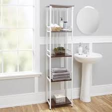 Bathroom White Shelves Bathroom Organization Shelving For Less Overstock