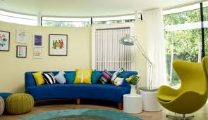 Living Room Design Ideas - Curved contemporary sofa living room furniture
