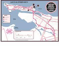 Old San Juan Map Divas Half Marathon U0026 5k San Juan Puerto Rico