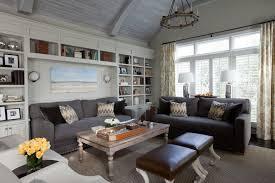 Decorating With Dark Grey Sofa 24 Gray Sofa Living Room Furniture Designs Ideas Plans