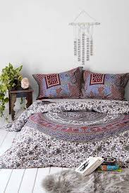 thinking grey elephant stamp duvet cover urban outfitters