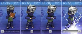 theme ls kakashi 3d animated miui ls theme update droidviews