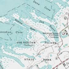 galveston island map galveston island state park galveston county park lake