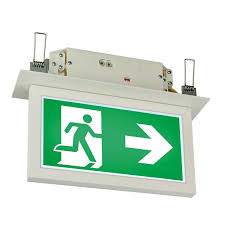mexodus architectural led exit sign emergency lighting
