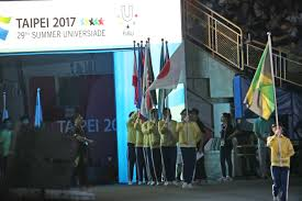 Taiwan Country Flag Protesters Block Entrance Of Athletes To Taipei Universiade