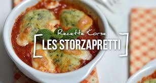 cuisine cor馥nne recettes recette des storzapretti aux blettes et au brocciu recette corse