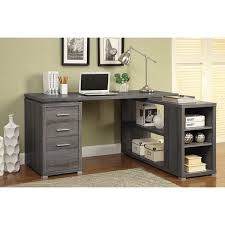 reversible l shape office desk and bookcase set free shipping