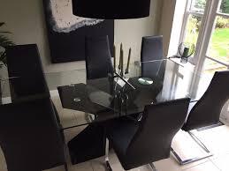 barker u0026 stonehouse dining table u0026 6 chairs in darlington