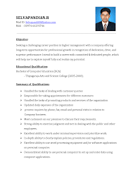 Best Resume Format Sample by Resume Format 2017 Pdf