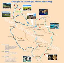 Chengdu China Map by Travel From Chengdu To Jiuzhaigou Get To Jiuzhaigou Valley From