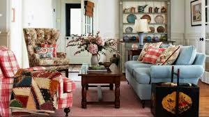 shabby chic livingrooms creame sofa floor tiles wall fireplace