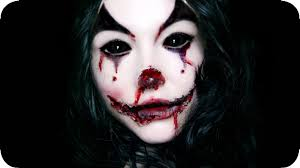 bloody clown 10 mins makeup halloween emikr 2016 youtube
