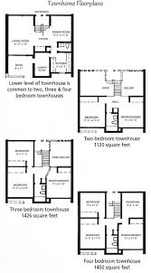 townhome floor plans woodhill u2013 national property management associates inc