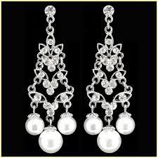 Vintage Pearl Chandelier Earrings Vintage Pearl Chandelier Earrings Home Design Ideas