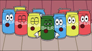 cartoon beer can beer can birthday choir youtube