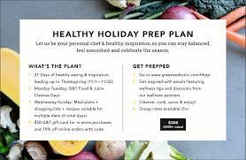 got 21 days try our healthy prep plan green tonic