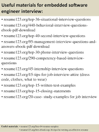 Software Examples For Resume by Top 8 Embedded Software Engineer Resume Samples