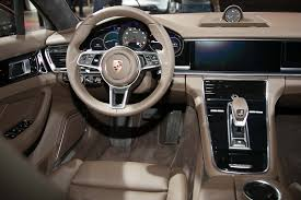 porsche panamera turbo 2017 interior porsche confirms mid engine 911 rsr at l a debut launches new