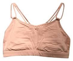 light pink sports bra lululemon light pink make a move activewear sports bra size 6 s 28
