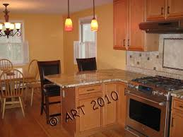 Designing A Small Kitchen by Small Kitchen Design With Peninsula Pictures Of Finished Kitchen