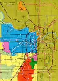 Kansas City Metro Map by Interstate Guide Interstate 435 Kansas Missouri