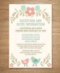 Wedding Reception Program Template Rsvp Cards Download U0026 Print