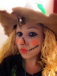 Halloween Scarecrow Costume 14 Scarecrow Makeup Images Scarecrow Makeup