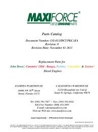 maxiforce 2013 catalog
