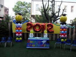 balloon arrangements for graduation graduation party balloon centerpieces archives decorating of party