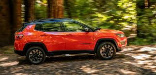 orange jeep compass the 2017 jeep compass hits shawnee ok
