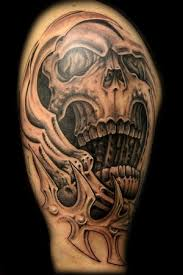 3d tattoos biomechanical tattoos