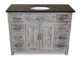 white washed pine cabinets 43 48 inch bathroom vanities bathgems com