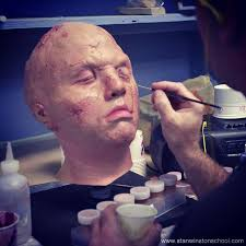 prosthetic makeup schools 95 best prosthetic makeup images on prosthetic makeup