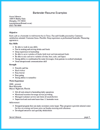 Us Resume Sample by Internet Offers Various Bartender Resume Template And Samples That