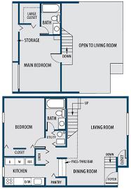 1 2 and 3 bedroom apartments in richmond va floor plans