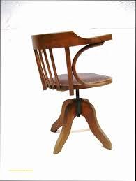 chaise de bureau en bois à fauteuil bureau bois et cuir archives meuble de bureau