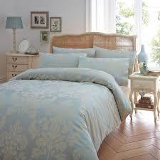 bedroom aqua blue three pattern duvet covers king size