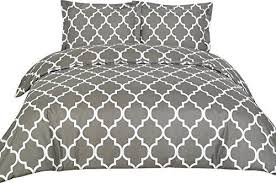 Duvet And Pillow Covers 3893455 Utopia Bedding Duvet Covers Queen Grey 3 Piece Set Cover 2