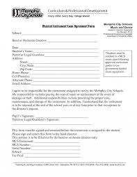 loant sample template free for contract form personal loan