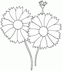 free flowers template that you can print out and use in your craft