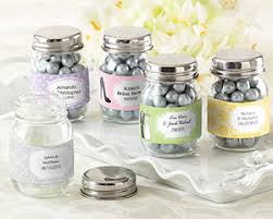 kate aspen mini glass jar wedding favors by kate aspen