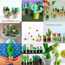 10 cactus crafts to delight fun crafts kids